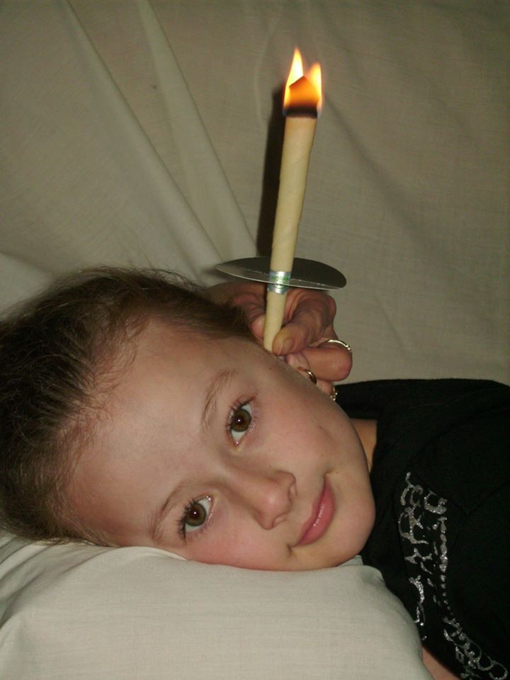 Ear candles are great for children's ear complaints