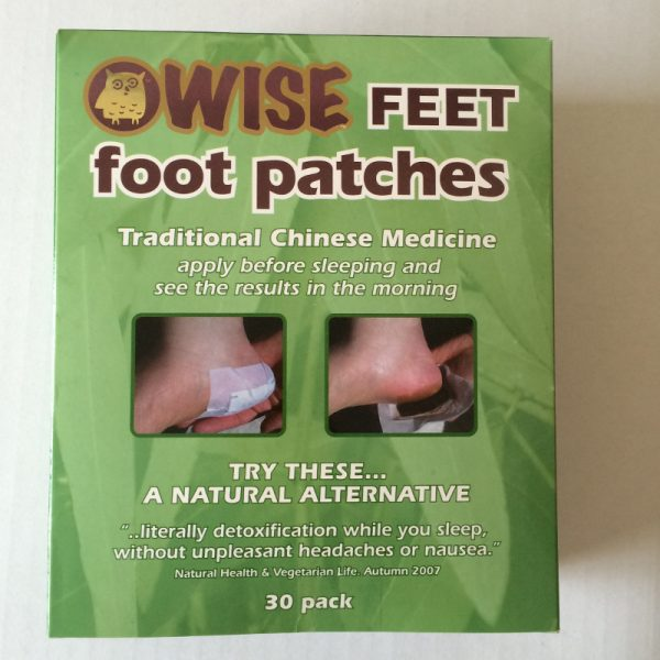 WiseFeet foot patches - box of 30