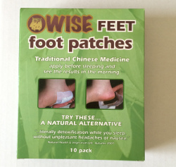 WISE FEET foot patches pack of 10