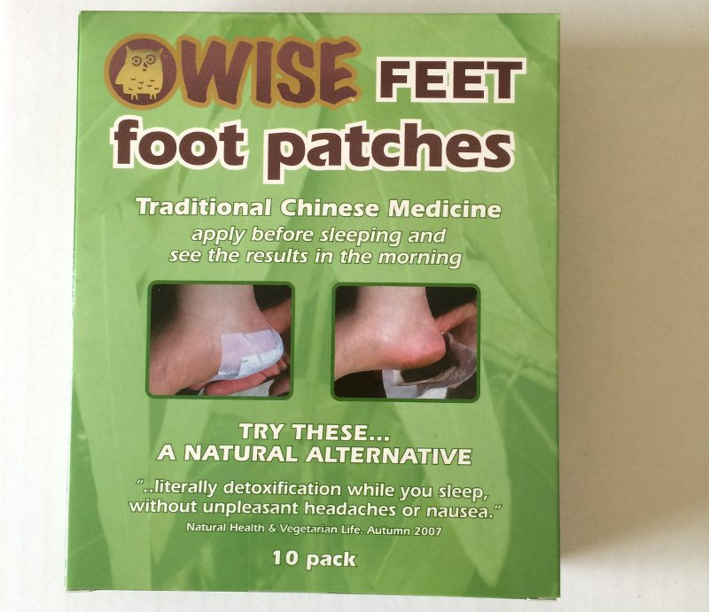 WiseFeet foot patches box